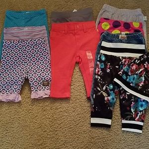 Other - 9 piece babygirl pants